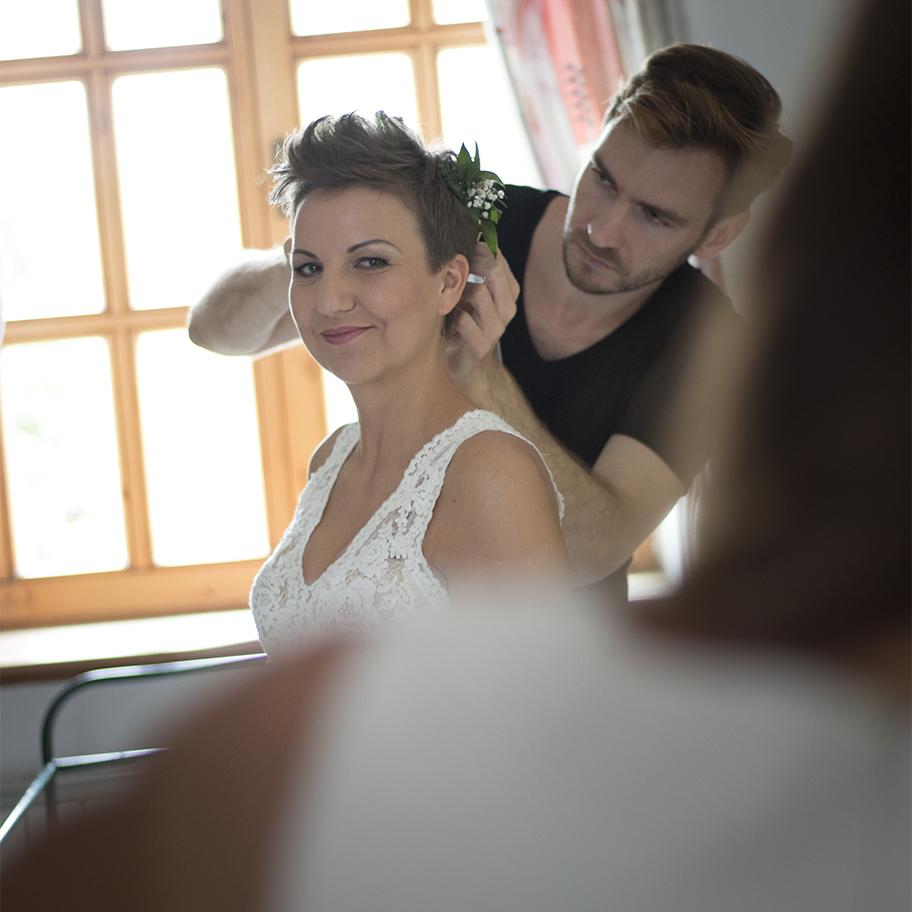 Dombi Vera fotós - esküvői előkészület fotózás